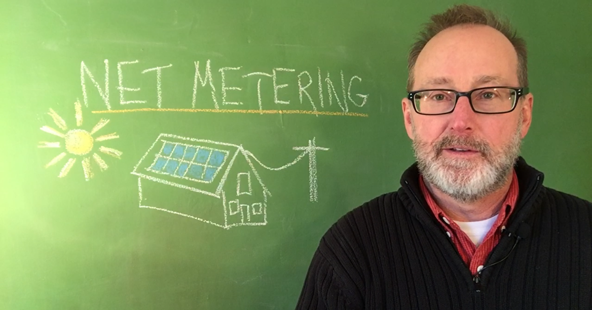 What is net metering - David Butler